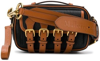 Acne Studios x Mulberry mini crossbody scotchgrain satchel bag