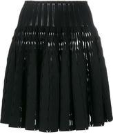Alaia flared mini skirt