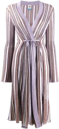 M Missoni Metallic Knit Longline Cardigan