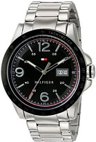 Tommy Hilfiger Men's Quartz Stainless Steel Casual Watch, Color:Silver-Toned (Model: 1791257)