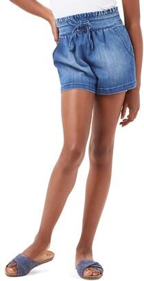 Habitual Paperbag Waist Denim Shorts