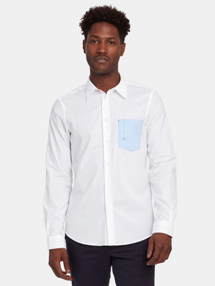 Paul Smith Tailored Fit Contrast Pocket Shirt