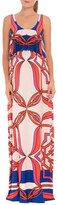 Olian Women's 'Angelina' Print Popover Maternity Maxi Dress