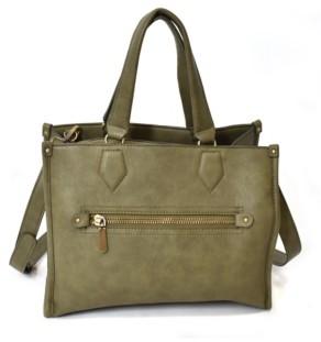 Imoshion Handbags Removable/Adjustable Long Strap Satchel Bag