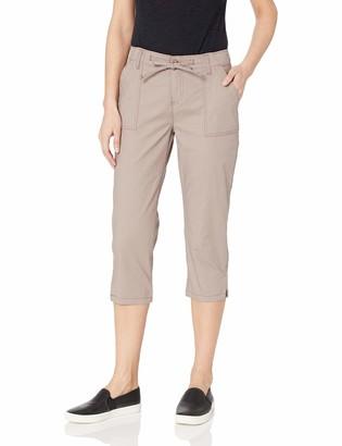 Lee Uniforms Lee Women's Regular Fit Utility Hem Capri Pant