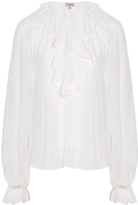 Temperley London Allure Ruffled Blouse