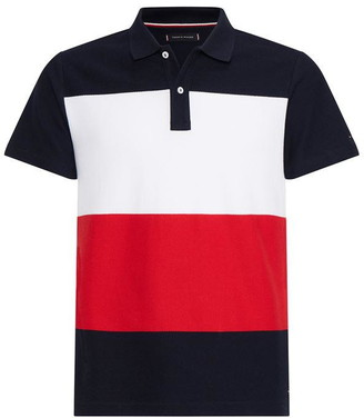 Tommy Hilfiger Colour Block Polo Top