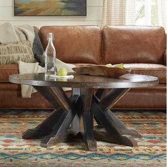 Hooker Furniture Roslyn County Pedestal Coffee Table