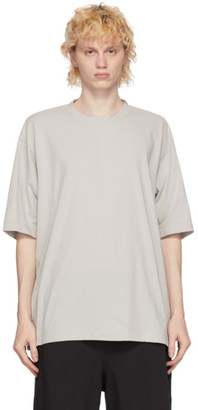 N.Hoolywood Grey Drop Sleeve T-Shirt