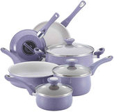 Farberware New Traditions 12-pc. Speckled Aluminum Nonstick Cookware Set