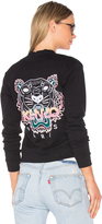 Kenzo Embroidered Tiger Bomber Jacket