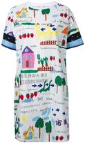 Muveil printed T-shirt dress - women - Cotton - 38