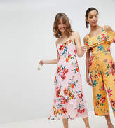 Whistles Exclusive Bridesmaids Floral Midi Dress