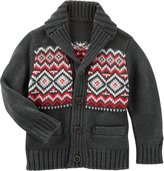 Osh Kosh Shawl Collar Cardigan - Heather - 4