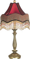 Dale Tiffany Beaded Ruby Table Lamp