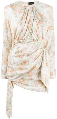 Magda Butrym Sanremo floral print asymmetric dress
