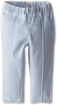 Paul Smith Jeans with Pink Bow Leggings in Light Baby Denim (Infant)