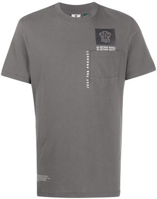 G Star multi logo pocket GR T-shirt