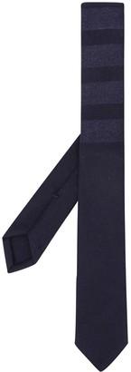 Thom Browne 4-Bar horizontal-stripe tie