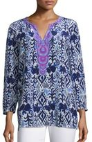 Lilly Pulitzer Renato Silk Printed Tunic