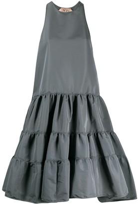 No.21 Tiered Mini Dress