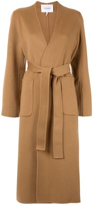 Frame Double Faced Bell Coat