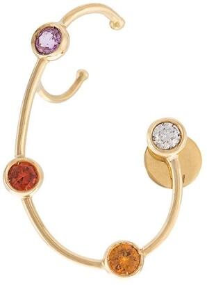 Ana Khouri Jewelled Wire Earring