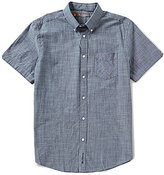 Ben Sherman Short-Sleeve Chambray Shirt