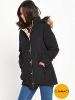 Denim & Supply Ralph Lauren Ralph Lauren Down Fill Parka Jacket - Polo Black
