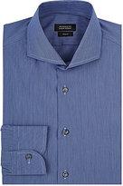 Barneys New York Men's Micro-Striped Cotton-Blend Dress Shirt