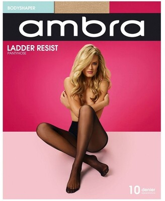 Ambra Ladder Resist Bodyshaper Pantyhose Natural