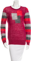 Marc Jacobs Knit Geometric Pattern Sweater