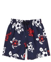 Vilebrequin 'Soccer Turtles' Swim Trunks (Toddler Boys, Little Boys & Big Boys)