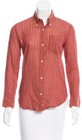 Etoile Isabel Marant Striped Button-Up Top