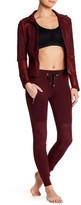 Electric Yoga Faux Suede Quilted Fleece Joggers
