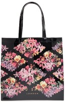 Ted Baker Large Icon Lost Gardens Tote - Black