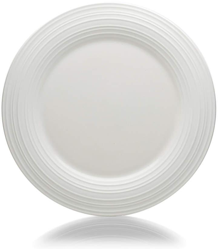 Mikasa Swirl White Round Dinner Plate