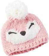 Carter's Knit Owl Hat