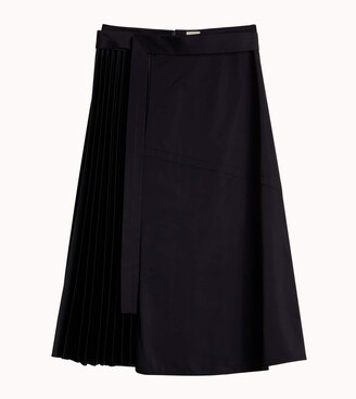 Tod's Skirt With Leather Insert