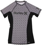 Hurley Women's One & Only SS Rash Guard - S