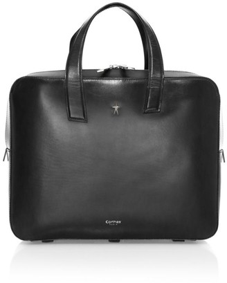 Corthay Phileas Leather Gradient Briefcase
