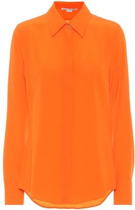 Stella McCartney Willow silk-crepe shirt