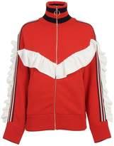 Laneus Frill Zipped Jacket