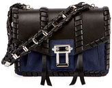 Proenza Schouler Hava Whipstitched Chain Shoulder Bag, Black