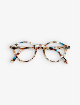 Izipizi Screen #D round-frame glasses +1.00