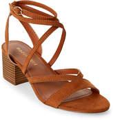 Madden-Girl Chestnut Leexi Strappy Block Heel Sandals