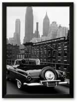 "Art.com Marilyn in New York City"" Framed Art Print by Sam Shaw"