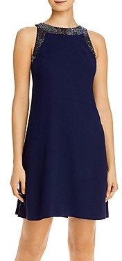 Aidan Mattox Beaded Trim Shift Dress - 100% Exclusive