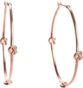 Avanessi Knot Hoops Earrings