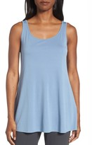 Eileen Fisher Women's Long Silk Tank